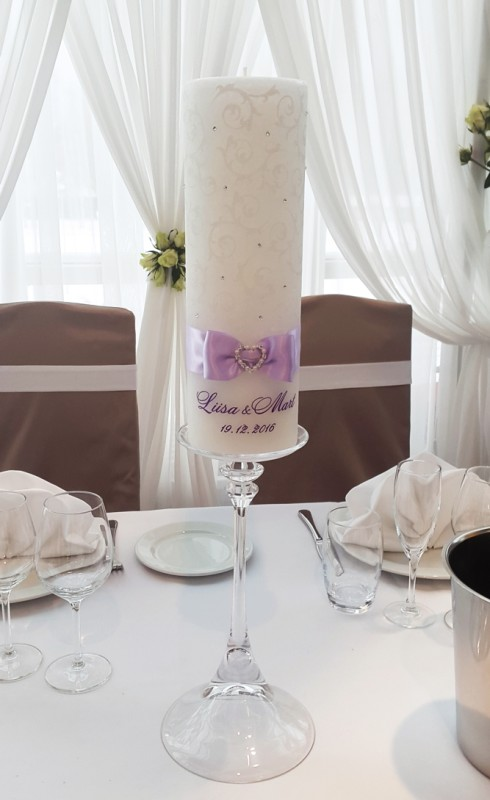 Wedding Candle Tinka Décor